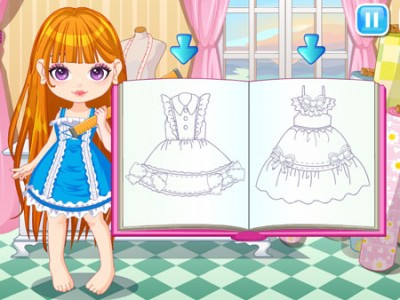 game - Make your fashion dress
