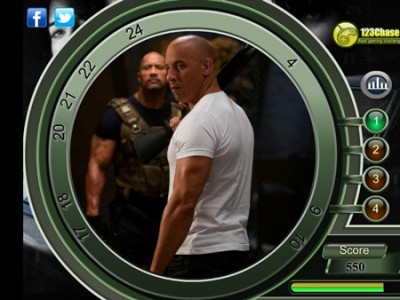 game - Fast and furious hidden numbers