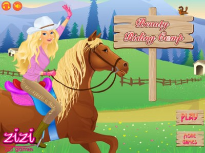 game - Beauty Riding Camp