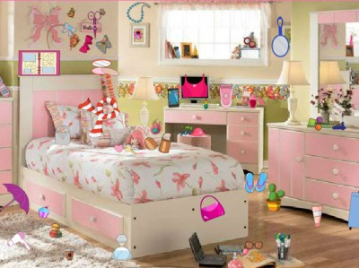 game - Messy Girl Room