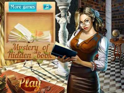 game - Mystery Of Hidden Book