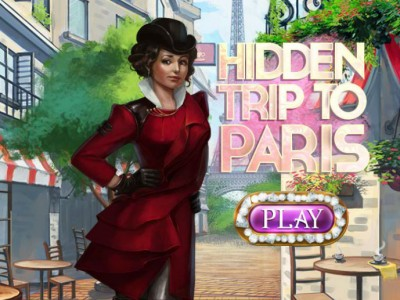game - Hidden Trip To Paris