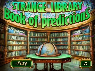 game -  Strange Library: Book of Predictions